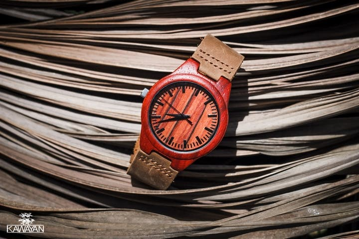 Kawayan Watches Red Maple