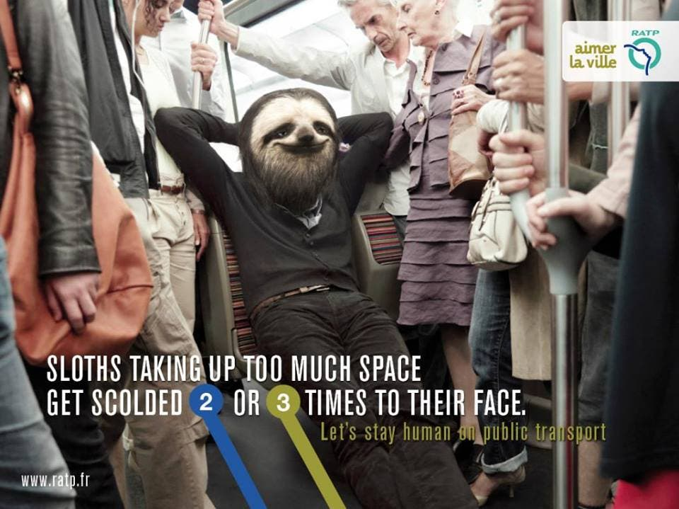 LOOK Ads Show Us How to be Human While Commuting 10