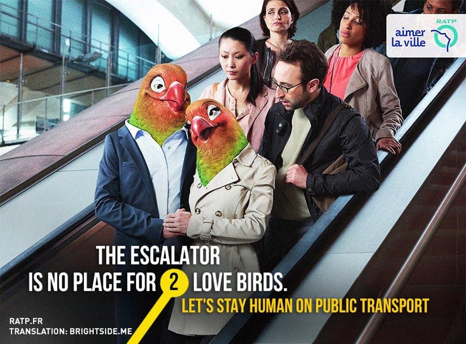 LOOK Ads Show Us How to be Human While Commuting 3