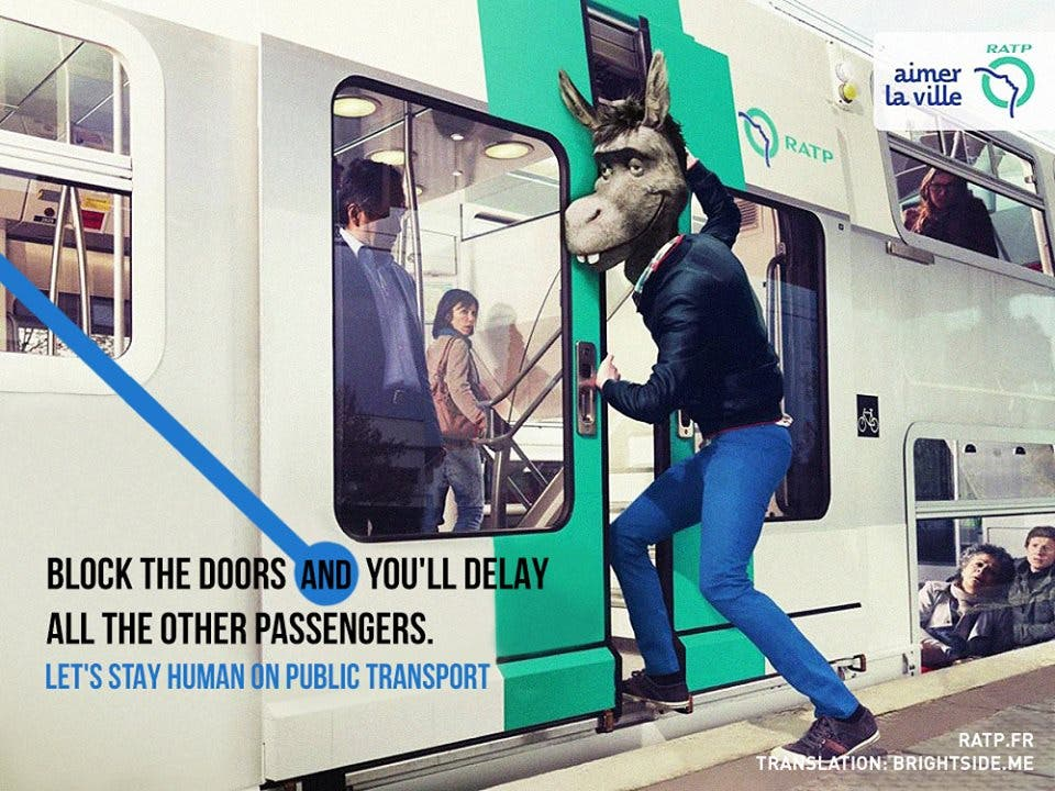 LOOK Ads Show Us How to be Human While Commuting 5