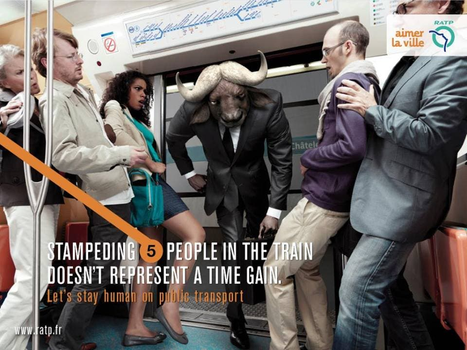 LOOK Ads Show Us How to be Human While Commuting 6