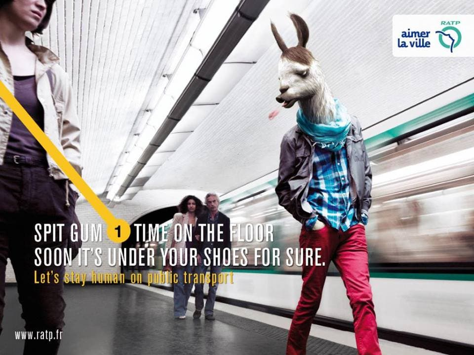 LOOK Ads Show Us How to be Human While Commuting 8