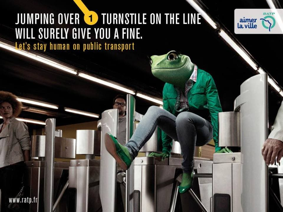 LOOK Ads Show Us How to be Human While Commuting 9