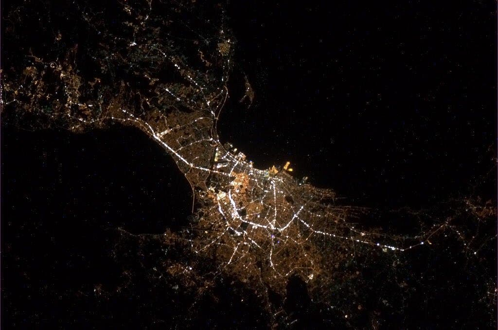 LOOK This is What Manila Looks Like From Outer Space