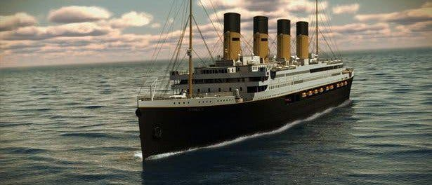 LOOK Will You Ride the Titanic II It Looks Exactly Like the First One