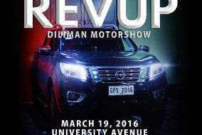 University of the Philippines The Biggest Campus Motorshow: RevUP! Diliman Motorshow on March 19, 2016