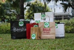 The Second Bag reuse secondhand bags