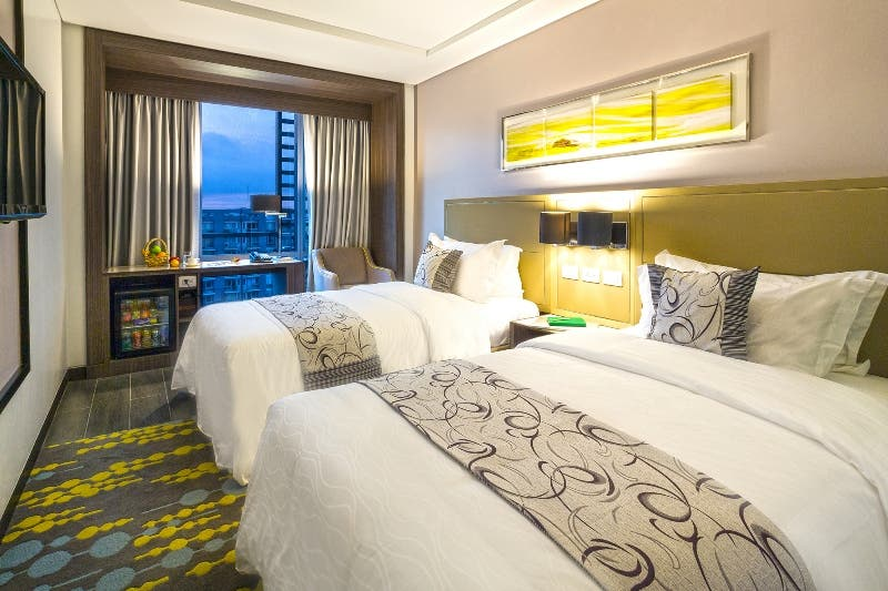 After A Stressful Day Travelling And Recovering From Jet Lag Travelers Find Solace In The Refreshing Designs Of Rooms Belmont Hotel Manila