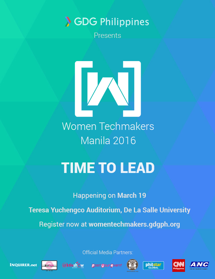 Women Techmakers Manila 2016: Celebrating Women in the Technology Industry De la salle university