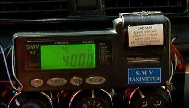 taxi meter philippines