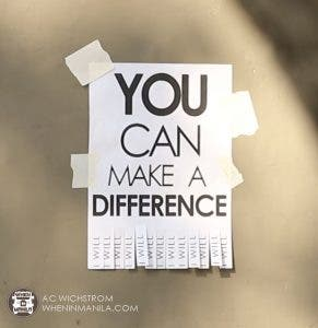 watermark - you can make a difference