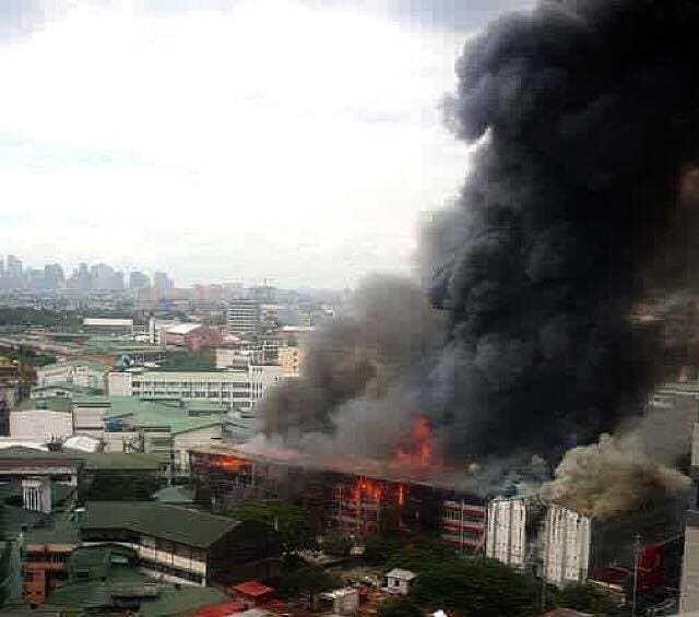 UE catches on Fire