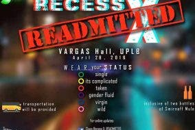 Class Recess X: Readmission — Let the Good Times Roll at the Baddest Party in Elbi UP