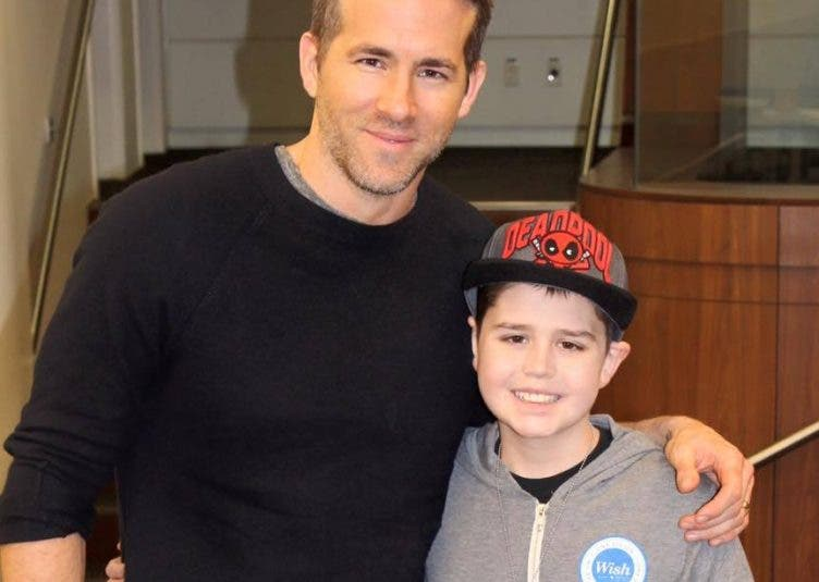 See Ryan Reynolds Heartwarming Message After 13-Yr Old Friend and Deadpool Fan Loses to Cancer