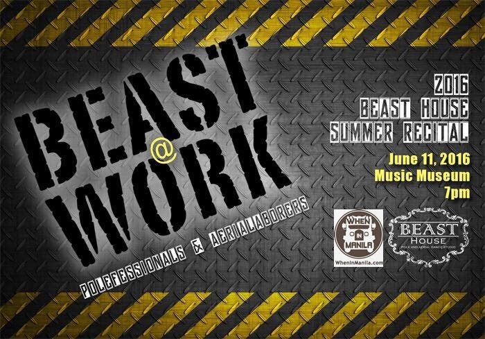Beast at Work: Beast House Pole and Aerial Dance Summer Recital 2016 and 2nd Anniversary Show
