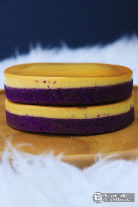 Double Decker Ube Leche Flan of Bellefleur by Beatrix