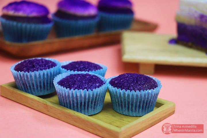 Ube Macaroons of Bellefleur by Beatrix