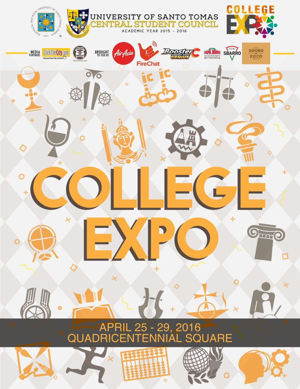 UST Central Student Council College Expo 2016