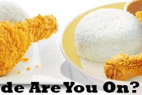 Chicken McDo vs Chickenjoy