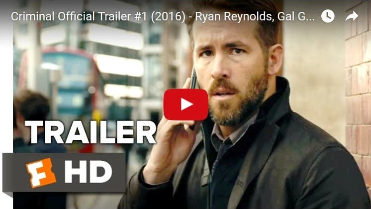 "TRAILER: Watch Ryan Reynolds and the Rest of a Powerhouse Cast in ""The Criminal"" OctoArts Films"