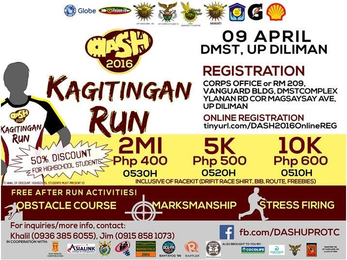 DASH 2016: Kagitingan Run