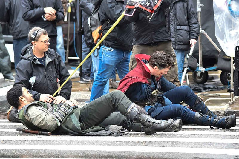 Doctor Strange Set Photos 5
