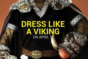 National Vikings Day Vikings Buffet Dress Up Like a Viking and Enjoy 50% Off On April 9 at VIKINGS!
