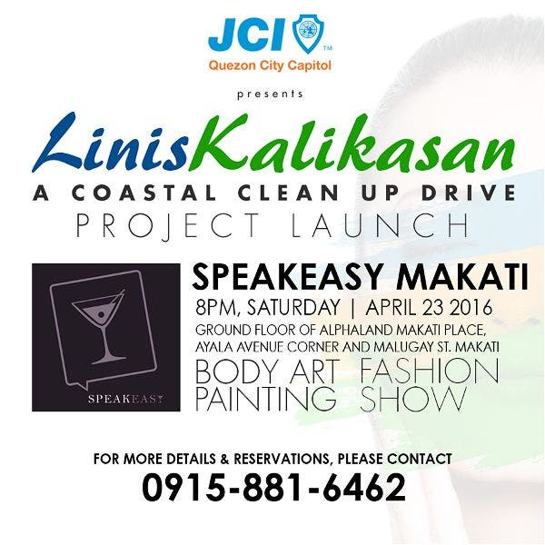 Linis Kalikasan Coastal & Beach Clean Up at Boracay, Launching April 23 in Manila