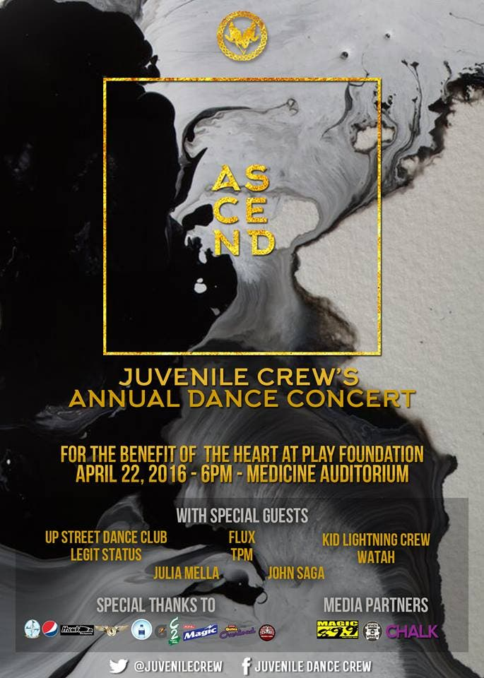 The Juvenile Dance Crew's 1st Dance Concert: Pledging for Peace Through Movement and Music