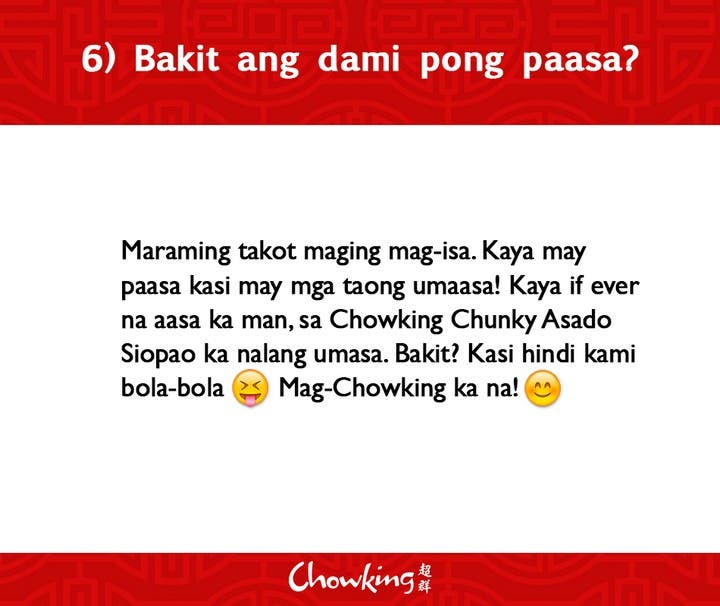 LOOK Chowking Fastfood Responds to Hugot Messages (7)