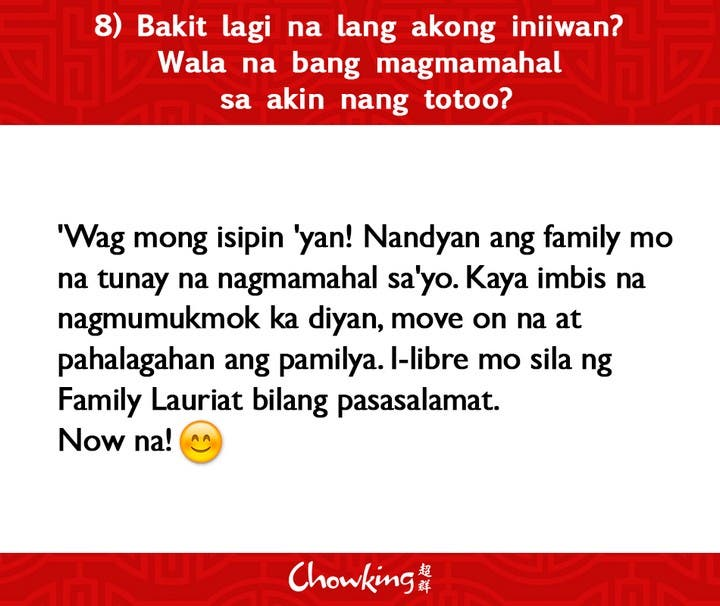 LOOK Chowking Fastfood Responds to Hugot Messages (9)