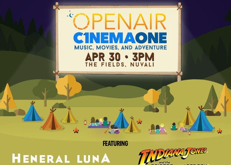 OpenAir Cinema One Music by Day, Movies by Night: The Ultimate Outdoor Movie Experience!