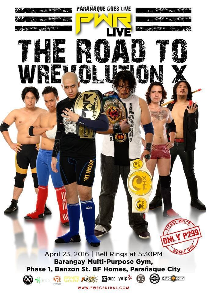 PWR-Live-Road-To-Wrevolution-X-Poster-When-in-Manila