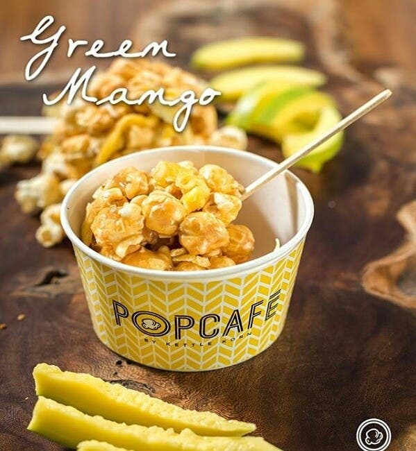 Popcafe by Kettle Korn Green Mango