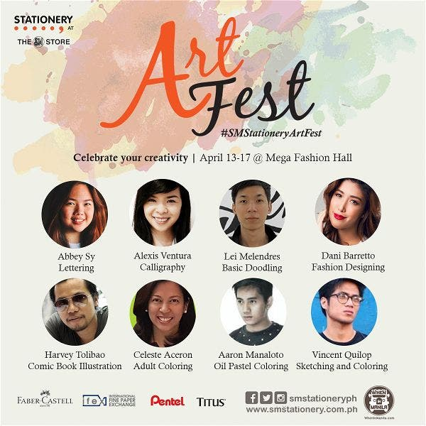 Celebrate Your Creativity at Art Fest! April 13-17 at Mega Fashion Hall