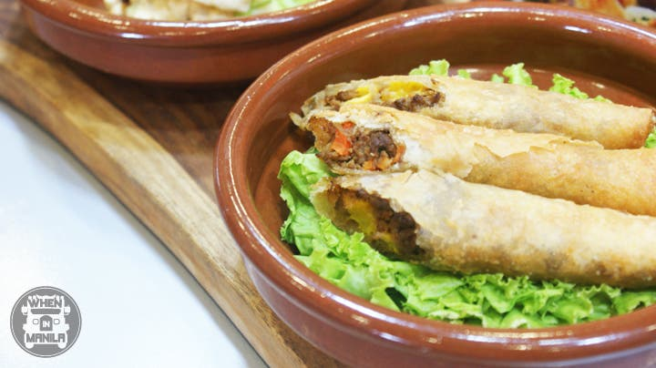 Lumpia made from Quorn