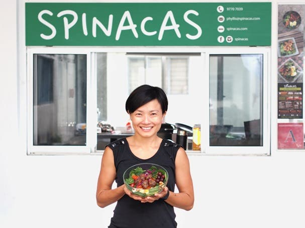 SPINACAS SALAD DIET DELIVERY SERVICE SINGAPORE REVIEW CHARLES ANGEL WHENINMANILA (19)