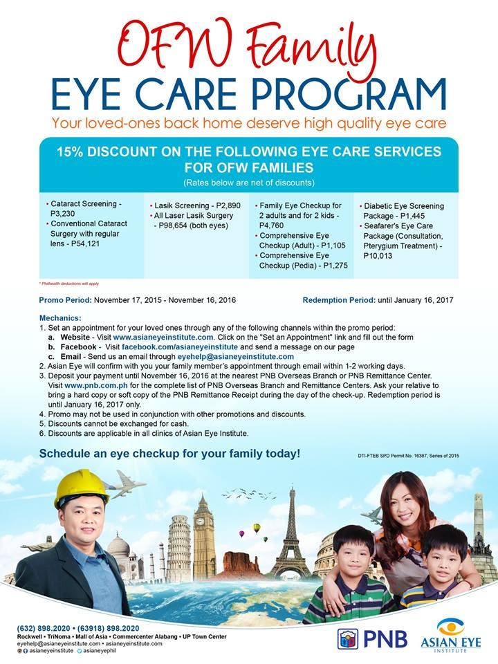 The Asian Eye Institute Providing Modern Eye Treatment and World Class Service plus Good News for all OFWs Cataract Surgery Review by CHARLES ANGEL LACSON WHEN IN MANILA WHENINMANILA (6)
