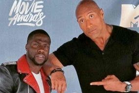 The Rock Kevin Hart Jumanji