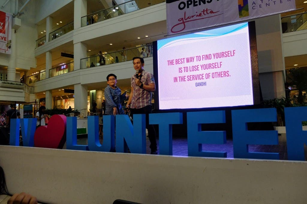 The VoiceMaster Speaks at the Go Volunteer Expo