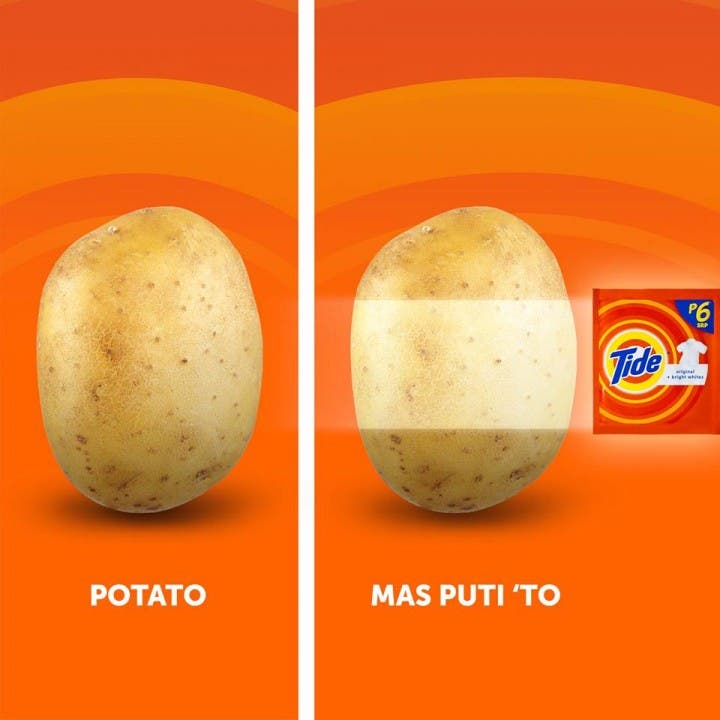 Tide Philippines Potato Ad