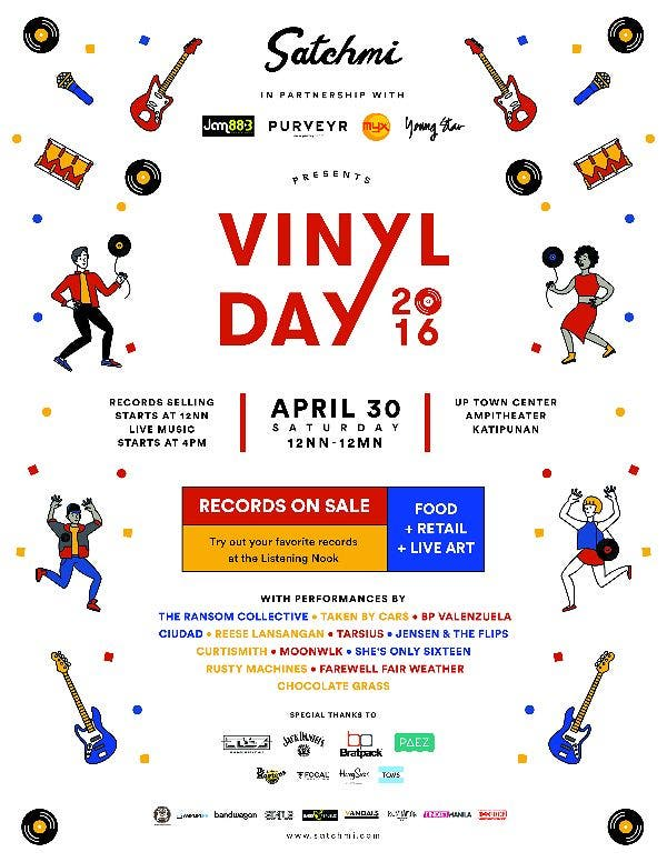 SATCHMI Presents: Vinyl Day 2016!