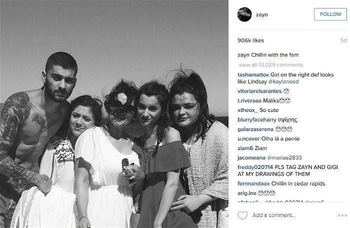 Getting Serious? Gigi Hadid Spent Birthday with BF Zayn Malik and His Family