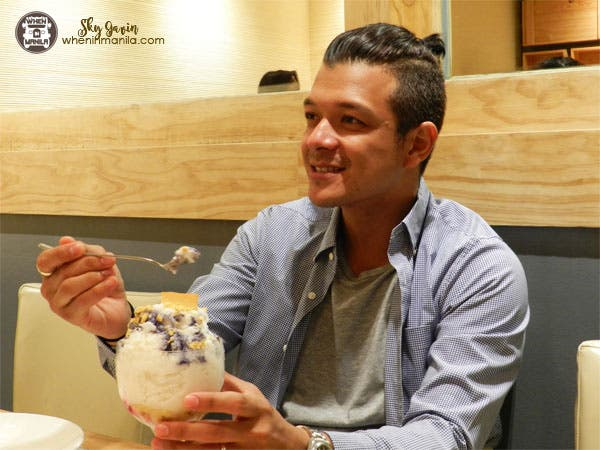 Cool Down this Summer with Halo-Halo from Kuya J Jericho Rosales