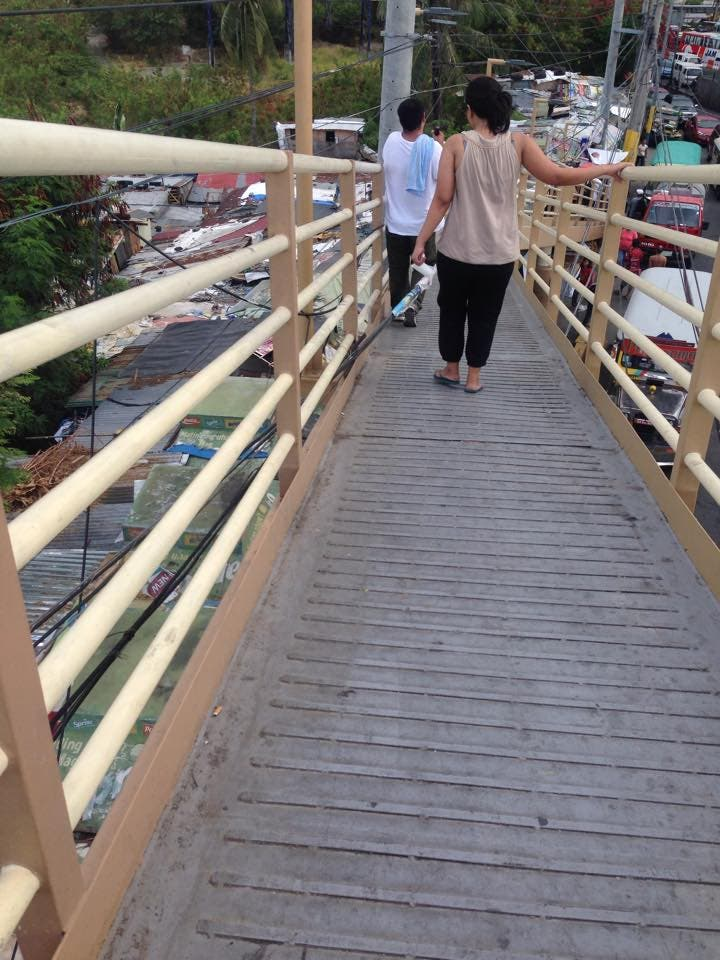 footbridge in sucat highway