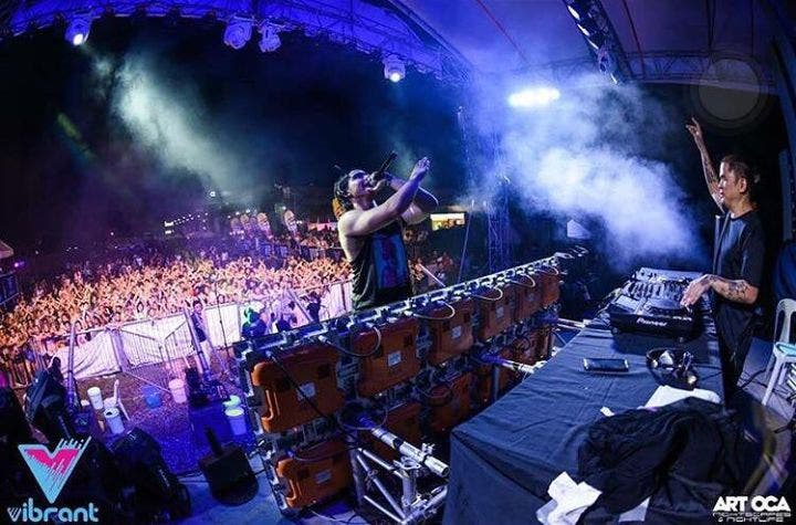 Go Wild with Paint at Vibrant Music and Paint Festival 2016