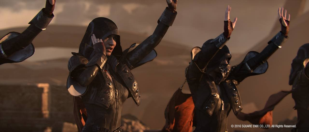 """PHOTOS: New Final Fantasy Animated Movie """"Kingsglaive"""" Gives us a First Look"""