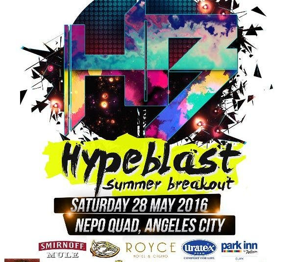 Cap the Summer Season at HYPEBLAST: Summer Breakout Pampanga PH!