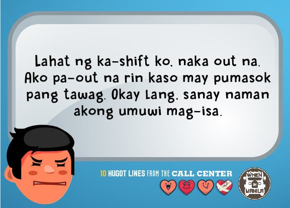 10 #Hugot Lines Most Call Center Agents Could Relate To