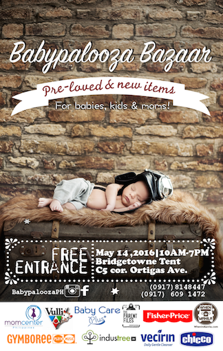 Babypalooza Bazaar: Pre-loved and Brand New Products for Babies, Young Kids and Mommies